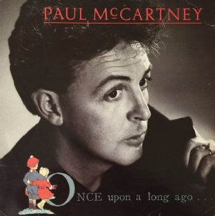 "Paul McCartney ‎- Once Upon A Long Ago (7"") (G+/G)"